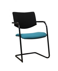 TOCHV02_Chaise visiteur design vert