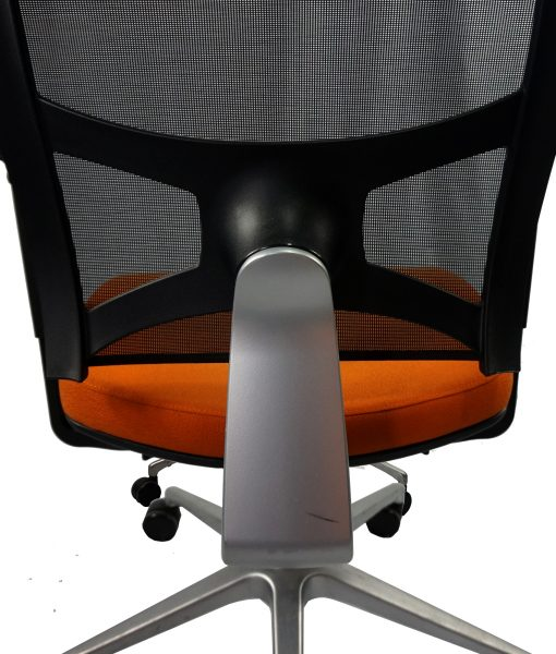 TOFAO01_Fauteuil de direction orange et noir occasion_3