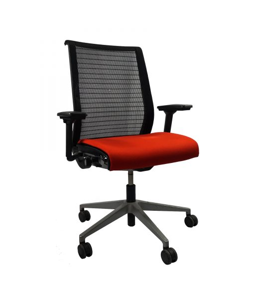 TOFAO02_Fauteuil de direction orange