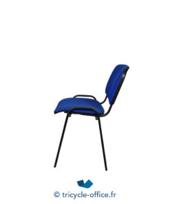 Tricycle Office Mobilier Bureau Occasion Chaise Visiteur Bleu 3