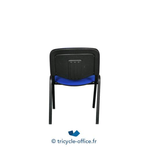 Tricycle Office Mobilier Bureau Occasion Chaise Visiteur Bleu 4