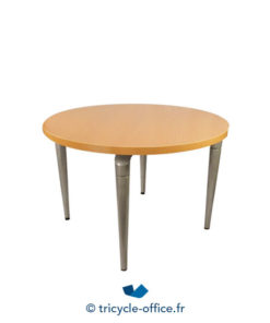Tricycle Office Mobilier Bureau Occasion Table Ronde Bois