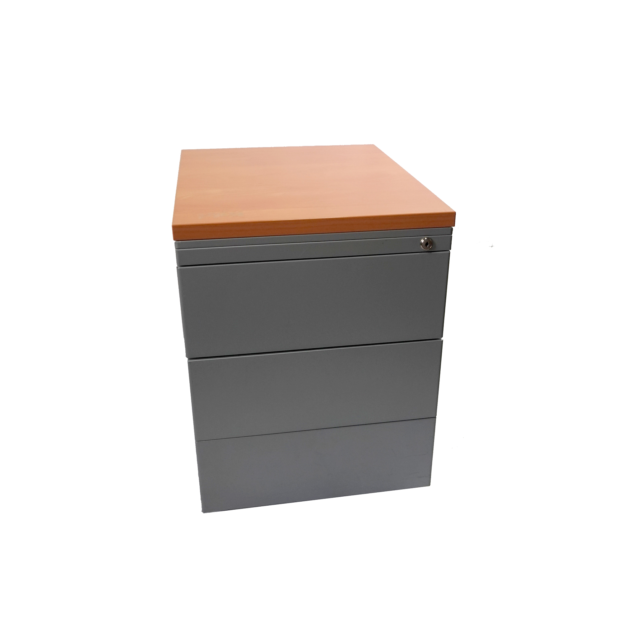caisson bureau gris et bois occasion tricycle office. Black Bedroom Furniture Sets. Home Design Ideas