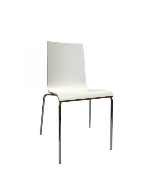TOCAW02_Chaise blanche bois occasion