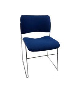 TOCHBL04_Chaise visiteur Bleu occasion_2
