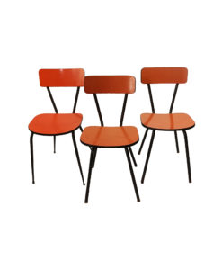 TOCHO03_Chaise formica orange Occasion