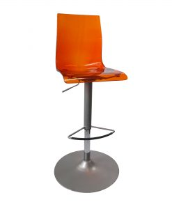 TOCHO04_Chaise haute orange Occasion