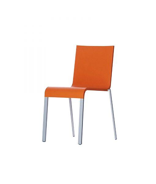 TOCHO05_Chaise vitra pas cher orange Occasion