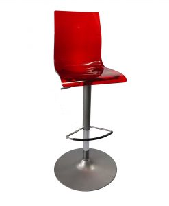 TOCHR02_Chaise haute rouge - Occasion