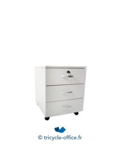 Tricycle Office Mobilier Bureau Occasion Caisson Bureau Blanc