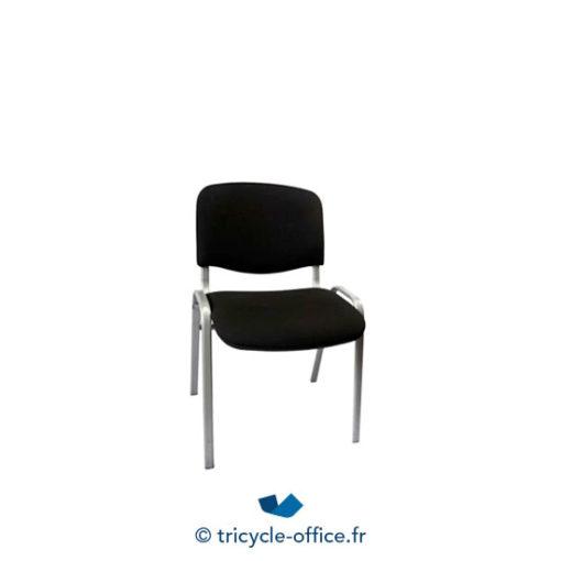 Tricycle Office Mobilier Bureau Occasion Chaise Empilable Noir