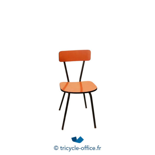 Tricycle Office Mobilier Bureau Occasion Chaise Formica Orange