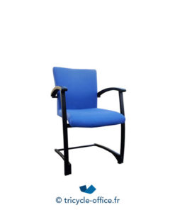 Tricycle Office Mobilier Bureau Occasion Chaise Kinnarps Bleu 1