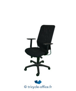 Tricycle Office Mobilier Bureau Occasion Fauteuil De Bureau Noir 1