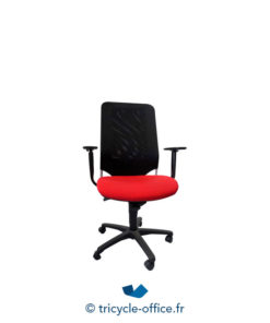 Tricycle Office Mobilier Bureau Occasion Fauteuil De Bureau Rouge Noir
