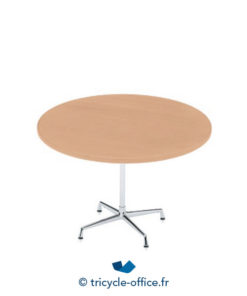 Tricycle Office Mobilier Bureau Occasion Table Vitra Ronde 90 Cm
