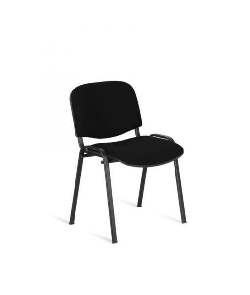 TOCHN07_Chaise visiteur noir pas cher