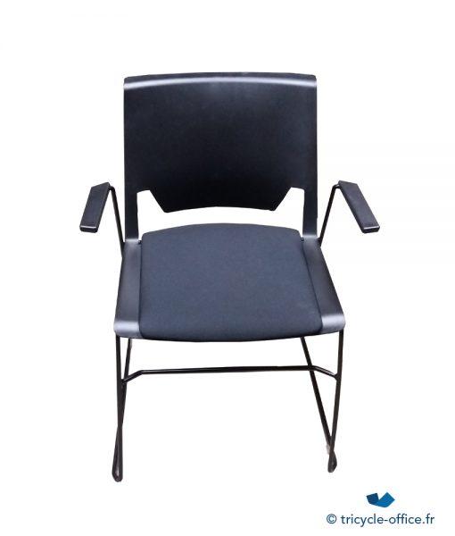 Chaise Visiteur Noir occasion