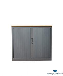 Armoire basse métallique steelcase occasion