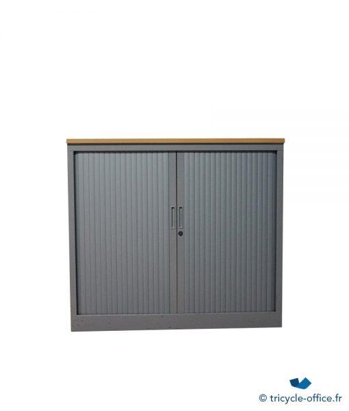 TOABG01_Armoire basse métallique steelcase occasion
