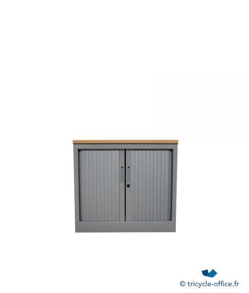 TOABG02_Demi Armoire métallique steelcase occasion