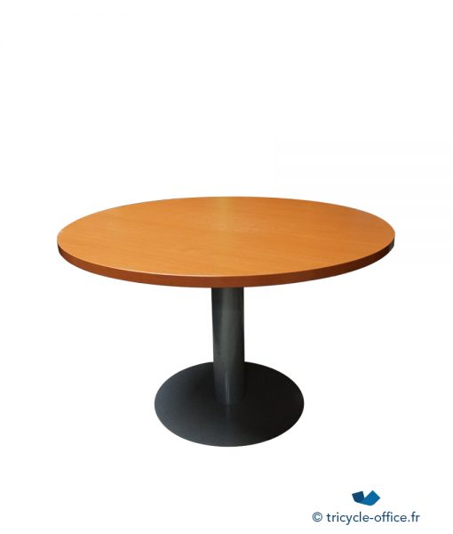 TOTAB16_Table ronde merisier 110 occasion