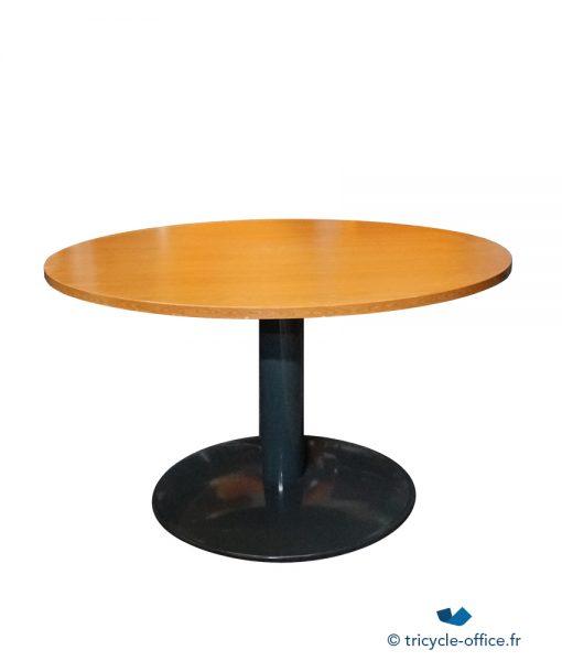 TOTAB17_Table ronde merisier 120 occasion