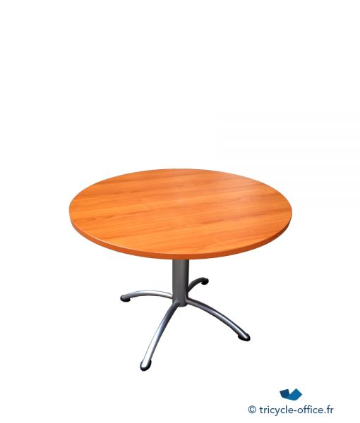 TOTAB20_Table ronde Bois Merisier occasion
