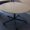 Tricycle Office Mobilier Bureaux Occasion Table Ronde A Roulettes 110 Cm