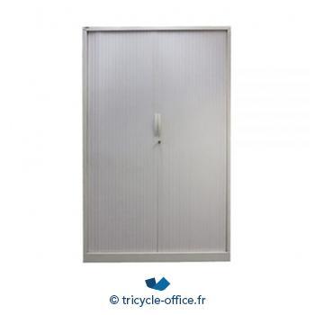 Tricycle Office Mobilier Bureau Occasion Armoire Metallique Majencia Blanc
