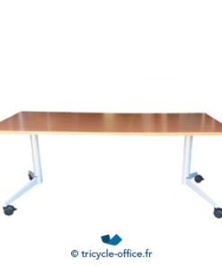 Tricycle Office Mobilier Bureau Occasion Table Pliante Werndl A Roulette