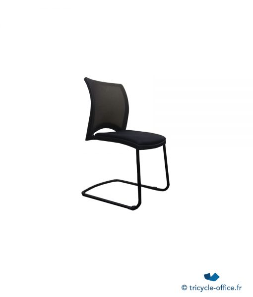 Chaise Luge Noir_Tricycle Office_pas cher
