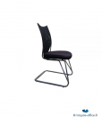 Chaise-Noir_Tricycle-Office_pas-cher