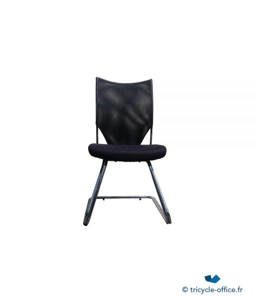 Chaise Noir_Tricycle Office_pas cher