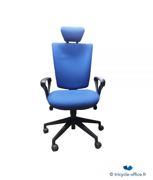 Fauteuil Bleu_Tricycle_Office_pas cher
