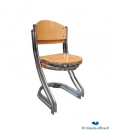 TOCHB05-Chaise-chrome-et-bois_Tricycle-Office-510×600