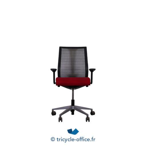 Tricycle Office Mobilier Bureau Occasion Fauteuil De Bureau Think Rouge Noir (2)
