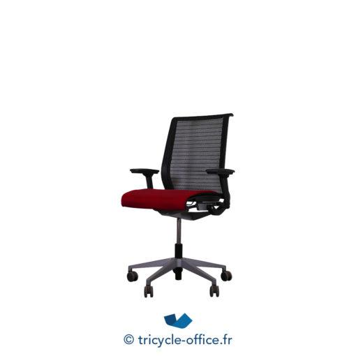 Tricycle Office Mobilier Bureau Occasion Fauteuil De Bureau Think Rouge Noir (3)