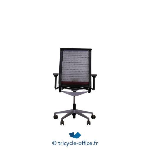 ricycle Office Mobilier Bureau Occasion Fauteuil De Bureau Think Rouge Noir (4)