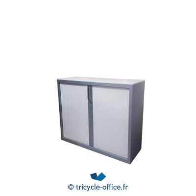 Tricycle Office Mobilier Bureau Occasion Armoire Basse Steelcase Blanc Gris 1