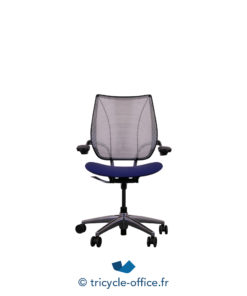 Tricycle Office Mobilier Bureau Occasion Fauteuil De Bureau Liberty Humanscale Bleu Noir