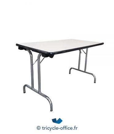 Tricycle Office Mobilier Bureau Occasion Table Pliante 120x70 Cm 1