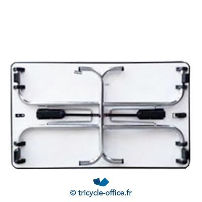 Tricycle Office Mobilier Bureau Occasion Table Pliante 120x70 Cm 2