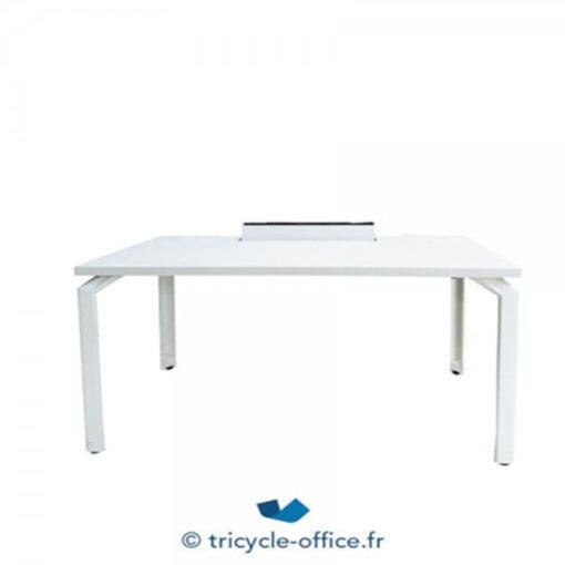 Tricycle Office Mobilier Bureau Occasion Petit Bureau Blanc 4