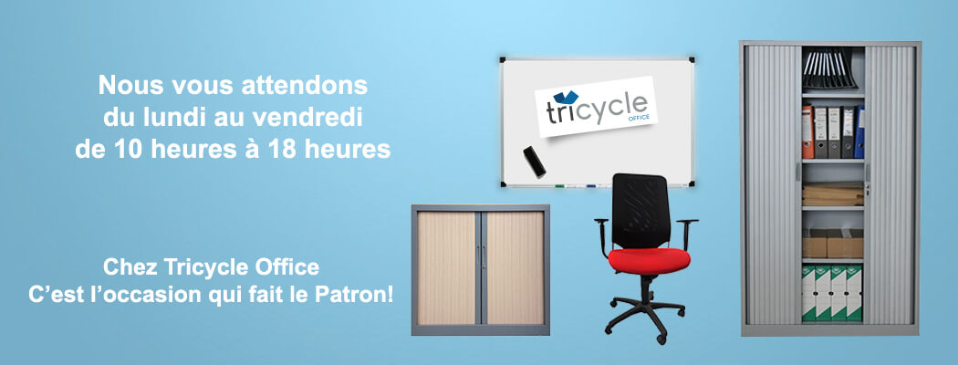 mobilier bureau occasion d couvrez notre s lection tricycle office. Black Bedroom Furniture Sets. Home Design Ideas