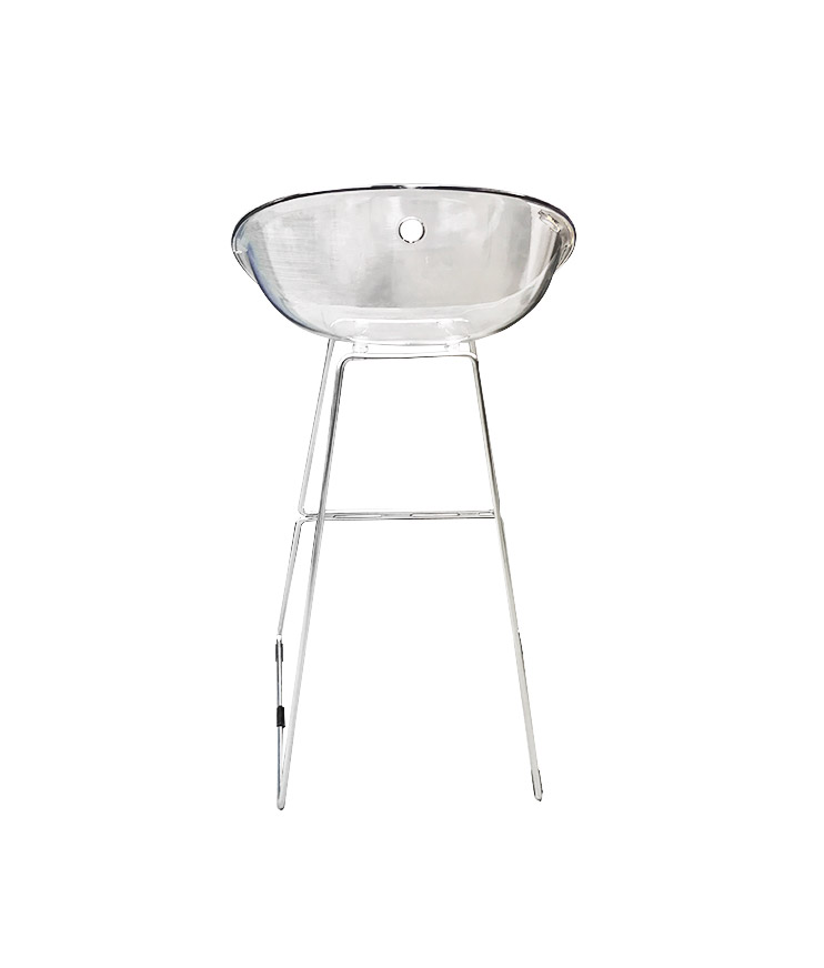 Tabouret haut transparent occasion tricycle office - Tabouret haut transparent ...