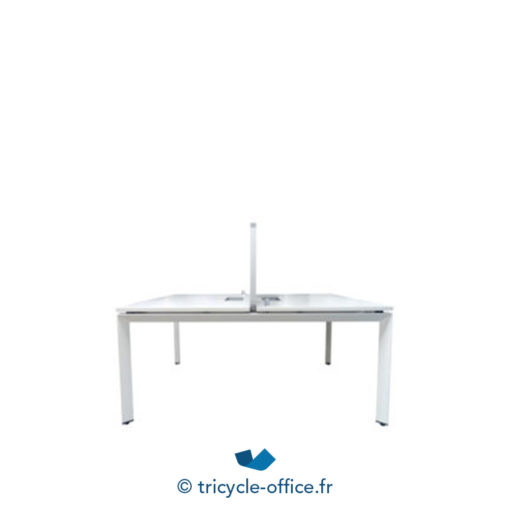 tricycle office mobilier bureau occasion bench steelcase blanc 2