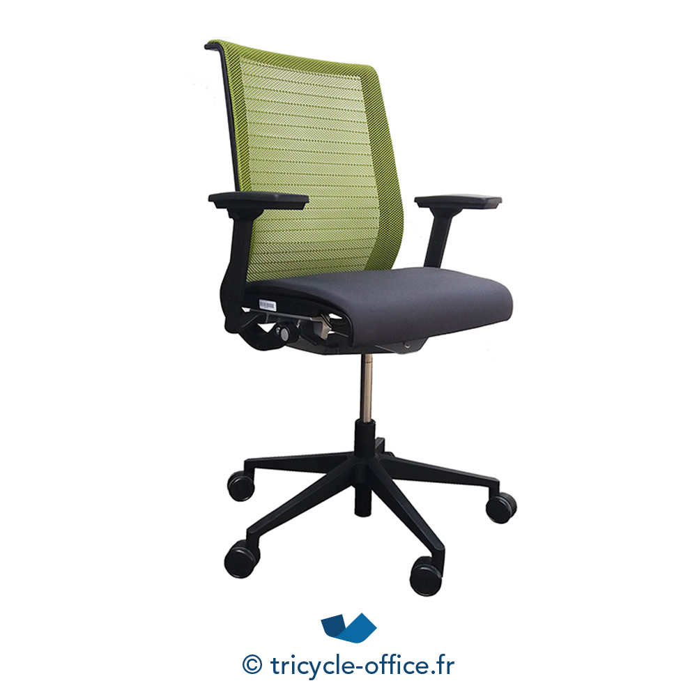 fauteuil de bureau think steelcase tricycle office. Black Bedroom Furniture Sets. Home Design Ideas