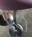 Tricycle Office Mobilier Bureau Occasion Tabouret Haut En Cuir Violet (1)