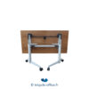 Tricycle Office Mobilier Bureau Occasion Table Pliante Avec Plateau Bois 135 Cm (2)